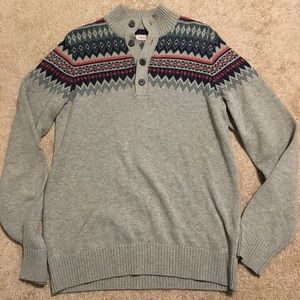 IZOD BUTTONED SWEATER